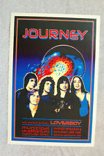 Journey Concert Tour Poster 1981 Nashville