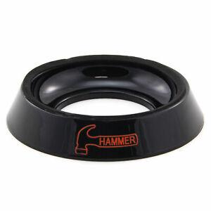 Bowlingkugel Ballständer Hammer Bowling Ball Cup schwarz mit Relief Hammer-Logo