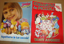 CORRIERE DEI PICCOLI 1988 NR.52 INSERTO/REAL GHOSTBUSTERS/SMOOSHEES/ROY ROD