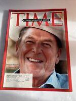 Time Magazine June 14, 2004 Ronald Reagan 1911-2004 Commemorative Issue
