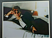 """Sting Reclining with Two Pair Glasses - 8x10"""" Photo Print - Vintage L1228C"""