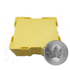 Mint Sealed box of 500 Silver Canadian Maple Leaf 1 oz. Coins - Monster Box
