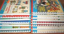 Talk To Me Fisher Price Books Disney Muppets Seuss Berenstain Records Lot 15