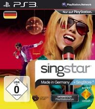 Playstation 3 Singstar MADE IN GERMANY * Sehr guter Zustand
