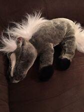 Breyer Animal Creations Plush Stuffed Animal Horse Grey White Snoozing