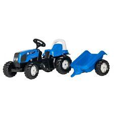 Rolly Toys Landini Powerfarm 100 Traktor mit Anhänger Trettraktor ohne Frontla