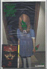 Night Of The Living Dead #1 Just a Girl Sticker Green Foil Variant Cover Coa