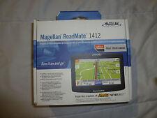 "BOXED MAGELLAN ROADMATE 1412 GPS UNIT PORTABLE NAVIGATOR 4.3"" TOUCH SCREEN"