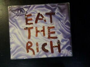 CD SINGLE - AEROSMITH - EAT THE RICH