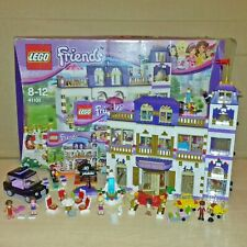 LEGO FRIENDS 41101 - HEARTLAKE GRAND HOTEL - GREAT CONDITION, INSTRUCTIONS + BOX