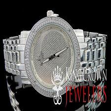 White Gold Finish Real Diamond Ladies Womens KC Jojino Jojo Presidential Watch