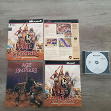 Age of Empires, Microsoft, PC CD-ROM (+ cut front/back of box)