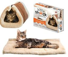 Kitty Shack 2-in-1 Tunnel Cat Bed & Mat Thermo-Reflective Core no box