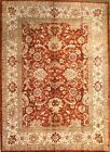 Hand-knotted Rug (Carpet) 6'5X9, Agra mint condition