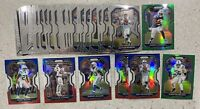 2020 PRIZM 41x COLTS LOT TAYLOR EASON LEONARD DOYLE MANNING RED WHITE BLUE GREEN