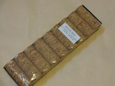 """54 Rod Building Wrapping Corks4US 1 1/4""""x1/2""""x1/4"""" Burl Cork rings River Red"""