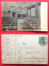 Foto AK BERLIN 1912 Innenansicht eines Gotteshauses Kirche  ( 15338