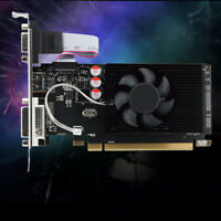 GPU HD6450 2GB DDR3 HDMI Graphic Video Graphics Card PCI Express for Game Finest