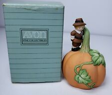 Avon-Giving Thanks-Bisque Porcelain Bell-1990-IOB