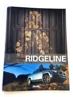 2007 Honda Ridgeline Truck 30-page Sales Brochure Catalog Book