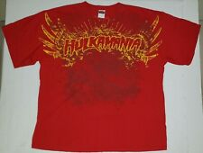 IMPACT Wrestling HULK HOGAN Hulkamania Size 2XL Red T-Shirt