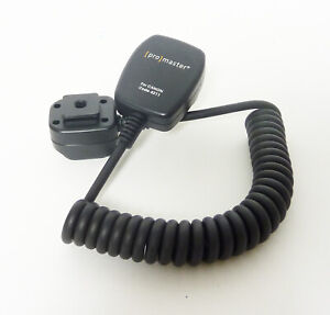 Promaster Off Shoe Cord for Canon EOS Cameras