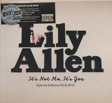 Lily Allen - It's Not Me It's You (Special Edition + DVD)   NEW - STILL SEALED