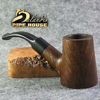 "Original BALANDIS Briar Smoking pipe Hand made Bent Poker "" CAPTAIN "" Brown Boss"