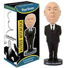"ROYAL BOBBLES ALFRED HITCHCOCK 8"" BOBBLE HEAD FIGURE BRAND NEW IN BOX"