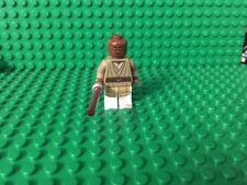 LEGO STAR WARS JEDI MASTER MACE WINDU MINIFIGURE FROM SET 75019 AT-TE LIGHTSABER