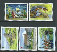GUERNSEY 2015 SARK 450 YEARS AS A FIEFDOM  UNMOUNTED MINT SET OF 5