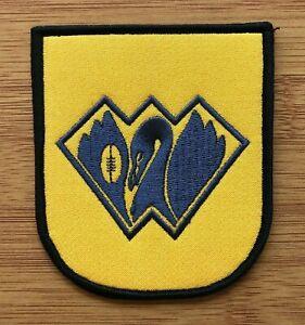 WAFL football jumper league & State of Origin shield patch 1982-1992 Western Aus