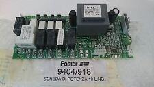 Scheda potenza 10 ling. forno elettrico Foster 9404918