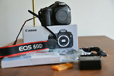 Canon EOS 60D DSLR Kamera Body in OVP und neuwertigem Zustand - 6600 Auslöser