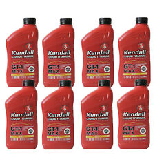 Full Synthetic 5W20 Motor Oil 8 Quarts In Case KENDALL GT1 Max w/liquid titanium