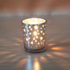 Wedding/Christmas Glass Votive Mosaic Candle Holders,Tealight Vases,Decoration