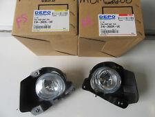 Mazda 2 DE Series Neo Maxx FOG LIGHTS Driving LAMP PAIR NEW 07-10