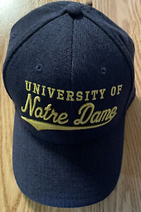 NOTRE DAME FOOTBALL TEAM ISSUED UNDER ARMOUR HAT NEW TAGS L/XL