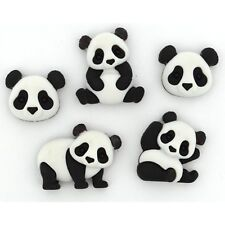 Jesse James Buttons ~ Dress It Up - PANDA PILE 10421  ~ Sewing ~ Scrap Craft