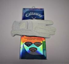1 New Womens Callaway Gem cabretta Leather Large golf glove Right Hand