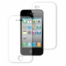 5x FRONT AND BACK TOP QUALITY CLEAR LCD SCREEN FILM PROTECTOR FOR IPHONE 4S & 4