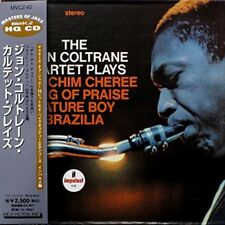 RARE CD JAZZ MINI LP VINYL REPLICA 20 BIT  THE JOHN COLTRANE QUARTET PLAYS
