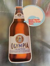 VINTAGE 1987 OLYMPIA BEER PABST BREWING CO. ADVERTISING POSTER SIGN MILWAUKEE WI