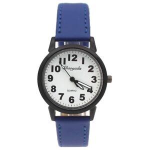 20 colors Women Men Watches Fashion Leather Analog Quartz Simple Wrist Watch U99