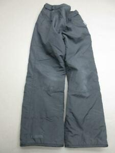 Columbia Size 14/16 Youth Black 100% Nylon Insulated Outdoor Snow Pants T330