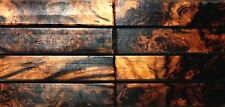 Australian Blackbutt Burl Wood Knife Blocks (Resin Cast)