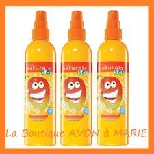 3 X MANGUE Magnifique SPRAY Demelant pour cheveux ENFANTS KIDS AVON