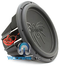 "SOUNDSTREAM T5.152 15"" TARANTULA 2600W MAX DUAL 2-OHM SUBWOOFER BASS SPEAKER NEW"