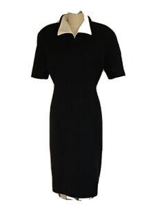 Vintage Valentino Boutique Ladies Dress Black Size 14