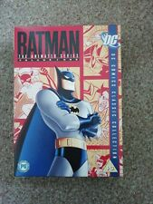 Batman - The Animated Series Vol.1 (DVD, 2007, 4-Disc Set, Box Set)